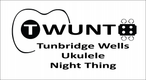 TWUNT logo Black on White horizontal words centre aligned