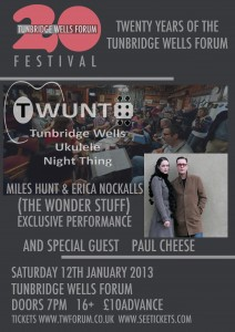 Forum Poster - Jan 2013